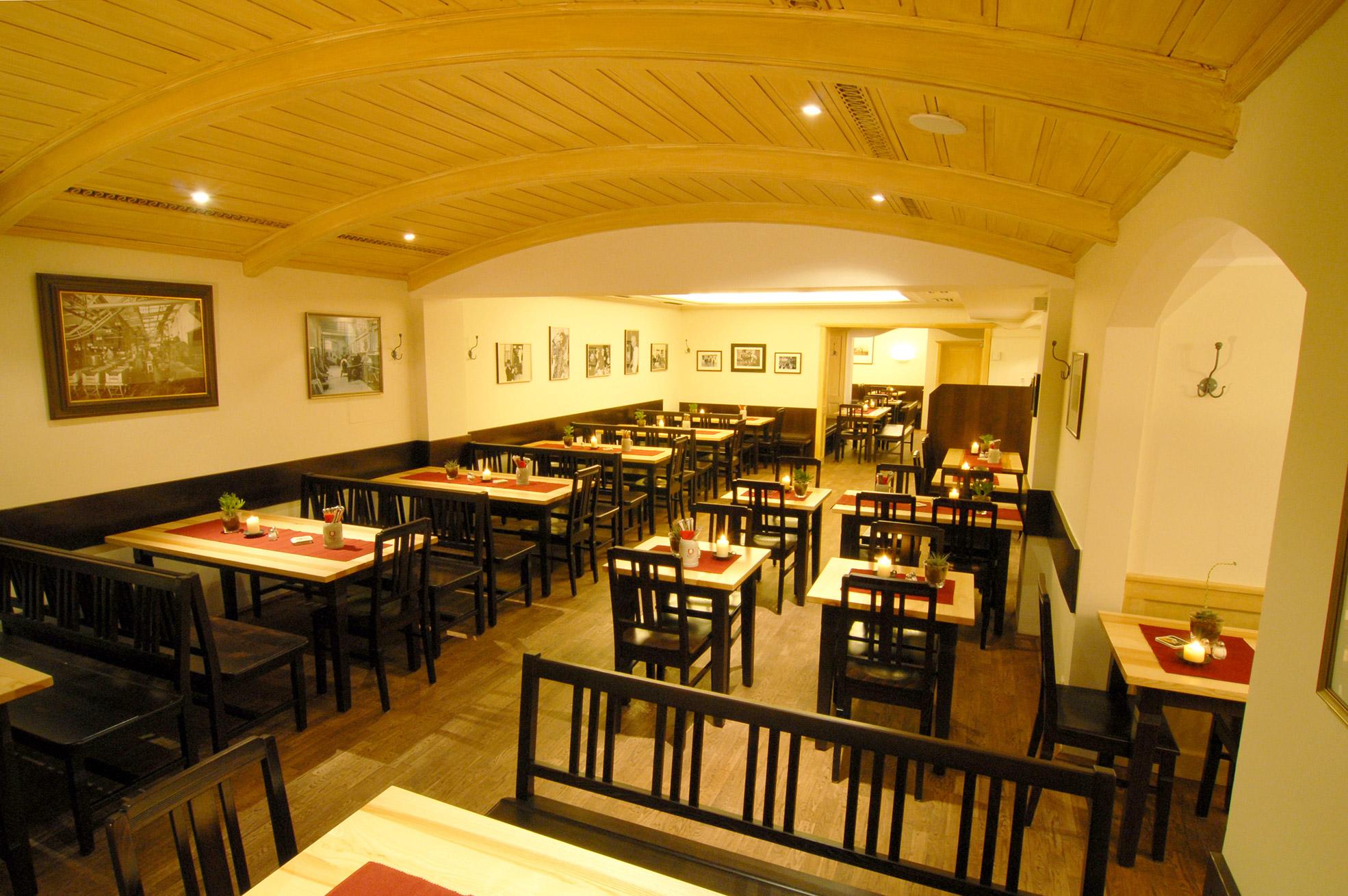 schnitzelwirt restaurant einblick